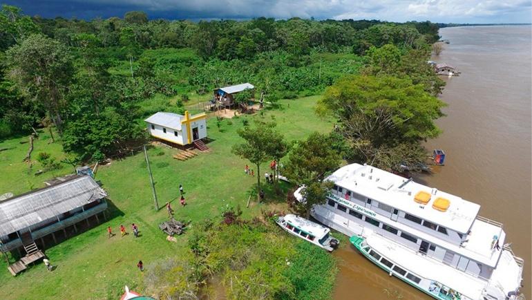 Igreja que Navega inicia suas atividades nas comunidades ribeirinhas